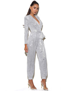 TASHA SEQUIN JUMPSUIT