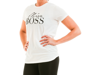 t+j Designs Miss Boss Tee