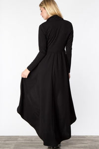 HIGH LOW MAXI DUSTER