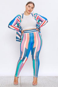 BIDIRECTIONAL TRACKSUIT CURVY