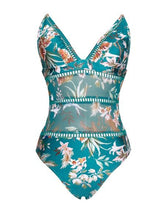 Load image into Gallery viewer, CABO FLORAL SWIMSUIT