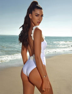 CAYMAN ISLAND FLORAL ONE PIECE SWIMSUIT