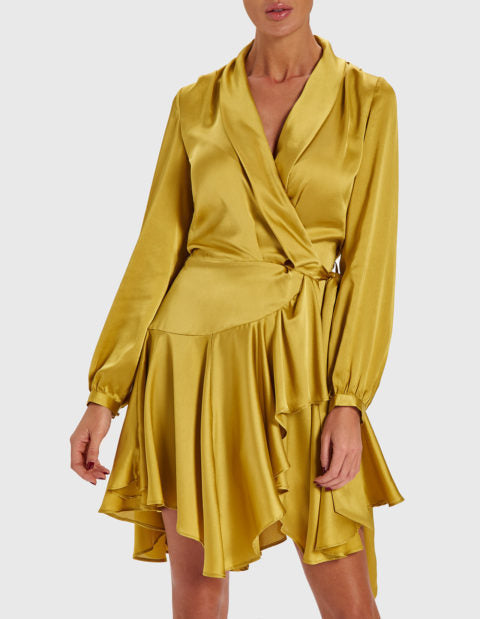 FOREVER UNIQUE MARGO WRAP DRESS
