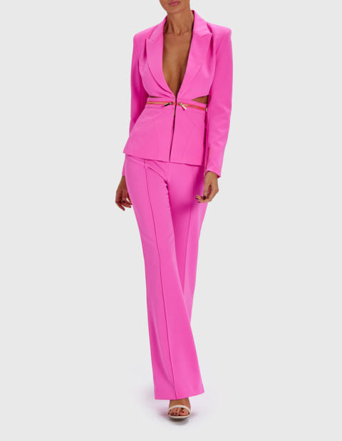 FOREVER UNIQUE LEYA TAILORED SUIT TROUSERS