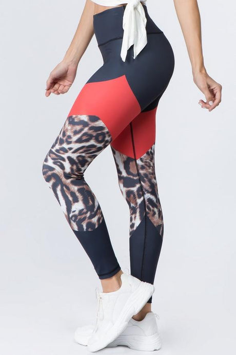 CHEETAH FELINE FLAIR LEGGINGS