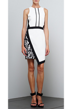 Load image into Gallery viewer, ADELYN RAE ASYMMETRICAL HEM DRESS