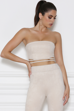 Load image into Gallery viewer, BILLIE FAUX SUEDE BUSTIER