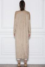 Load image into Gallery viewer, BILLIE FAUX SUEDE DUSTER