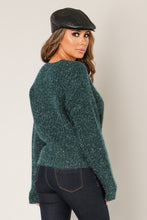 Load image into Gallery viewer, LUREX  DETAIL SWEATER