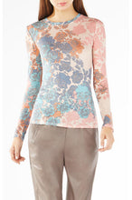 Load image into Gallery viewer, BCBG AGDA FLORAL JERSEY TOP