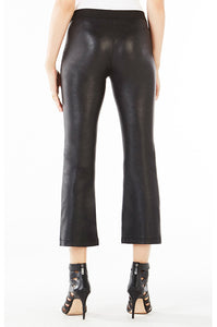 BCBG TATE FAUX LEATHER PANTS