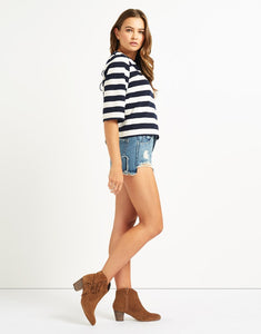 FRNCH STRIPED NAUTICAL TOP