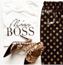 Load image into Gallery viewer, t+j Designs Miss Boss Tee