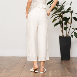 LUCY PARIS KAIA TEXTURED PANTS
