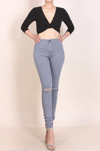 SJ STYLE HIGH WAIST SKINNY PANTS