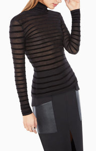 BCBG BRYNN TURTLENECK TOP
