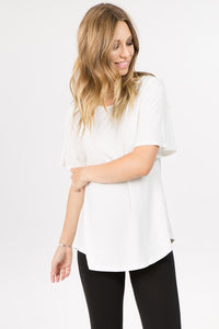 BELL SHORT SLEEVE TUNIC TOP