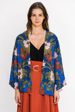 Load image into Gallery viewer, JEALOUS TOMATO FLORAL BREEZY CARDIGAN