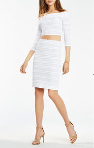 BCBG BETTIE OFF SHOULDER SET