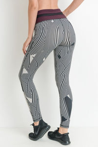 HIGH WAIST COLORBLOCK FULL LEGGINGS