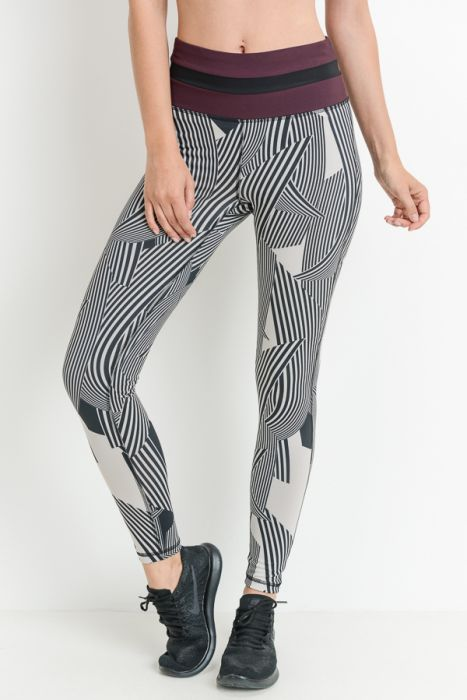 7c194e01576 ... Load image into Gallery viewer, HIGH WAIST COLORBLOCK FULL LEGGINGS ...