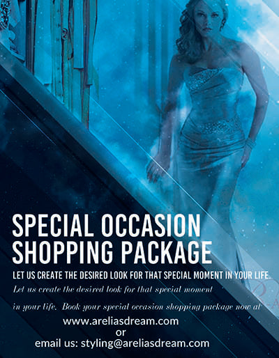 SPECIAL OCCASSION SHOPPING PACKAGE