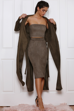 Load image into Gallery viewer, BROOKLYN FAUX SUEDE DUSTER