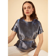 Load image into Gallery viewer, FRNCH CARREN ELECTRIC BLUE TOP
