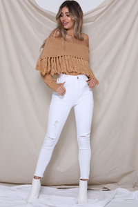 COWGIRL KNIT SWEATER
