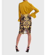 Load image into Gallery viewer, FOREVER UNIQUE BLOUSE AND BAROQUE MIDI SKIRT SET