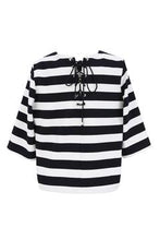 Load image into Gallery viewer, FRNCH STRIPED NAUTICAL TOP