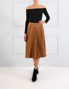 e6006df29 FOREVER UNIQUE BRITTON PLEATED MIDI SKIRT – Arelia's Dream