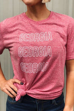 Load image into Gallery viewer, GEORGIA TAILGATE TEE