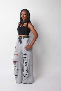 CUT OUT SWEATPANT