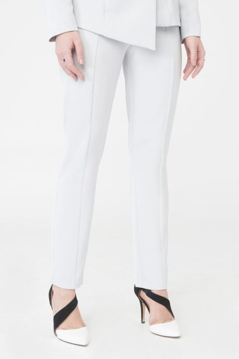 LAVISH ALICE PANELED TAPERED TROUSERS