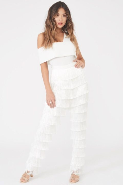 LAVISH ALICE FRINGE TROUSERS