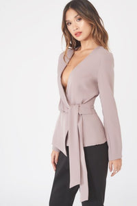 LAVISH ALICE ASYMMETRIC FOLDED OVER TOP