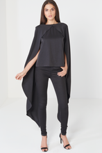 Load image into Gallery viewer, LAVISH ALICE MAXI OVERLAY CAPE TOP