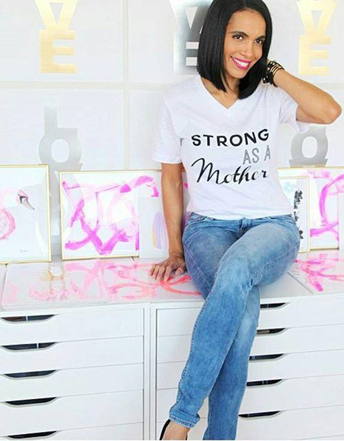 RAWR STRONG AS A MOTHER TEE