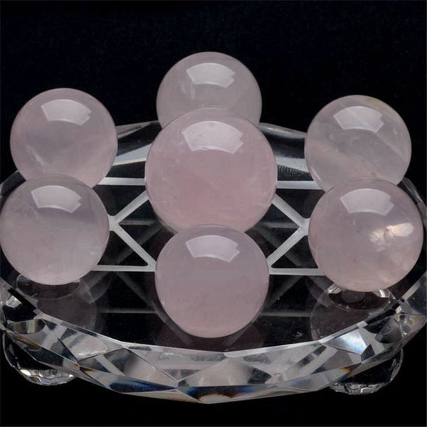 Quartz Rose 7 Pcs