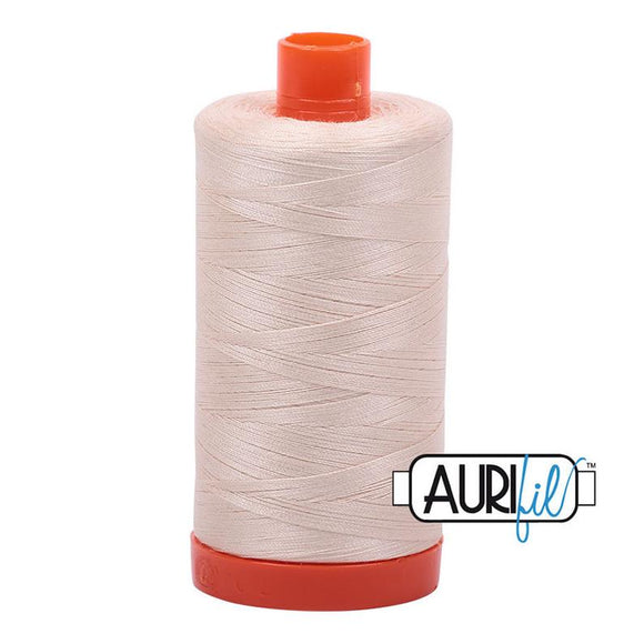 Aurifil Light Sand (2000) 50wt - Large Spool
