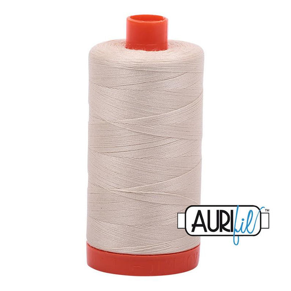 Aurifil Light Beige (2310) 50wt - Large Spool