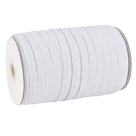 White Elastic (5mm) Sold By The Yard