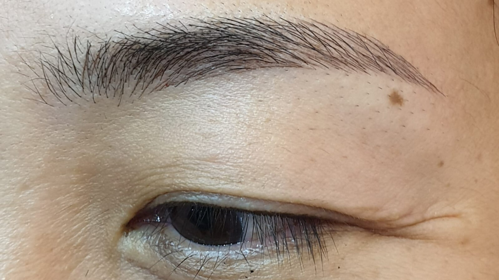 eyebrow embroidery aftercare singapore bukit panjang plaza