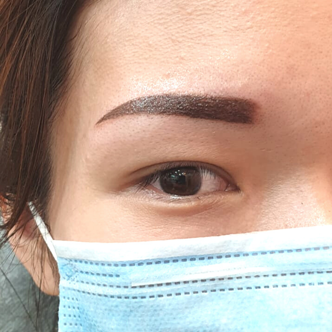 Cheap and good eyebrow embroidery singapore