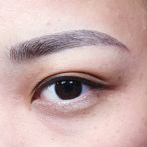 Feather Stroke eyebrow embroidery Singapore Bukit Panjang