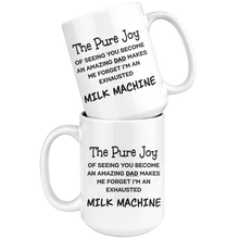 Load image into Gallery viewer, Pure joy Exhausted Milk Machine