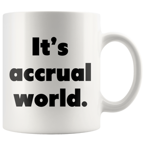 It's accrual world cpa