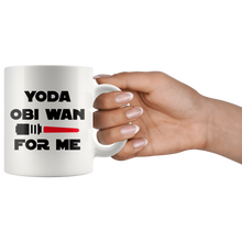 Load image into Gallery viewer, Yoda Obi wan for me