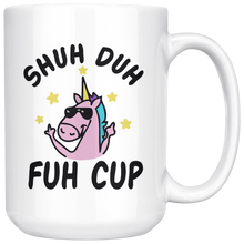 Load image into Gallery viewer, Shuh duh fuh cup unicorn